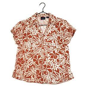 Vintage | Floral Hawaiian Shirt size S/M